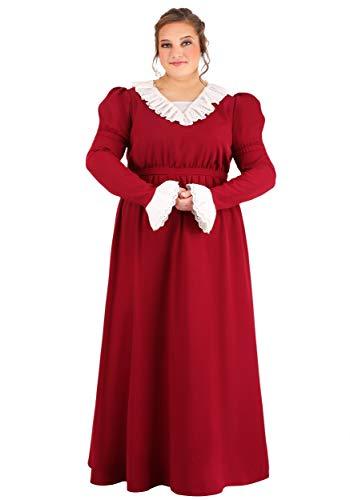 Disfraz de Abigail Adams para mujer