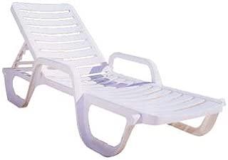 Grosfillex Bahia Resin Chaise - 44031004 (6 pack)
