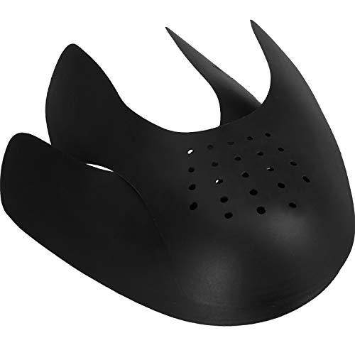 1 Pair Shoe Creases Anti-Wrinkle Protector Toe Box Decreaser, Prevent Shoes Crease Indentation, Men's 7-12/ Women's 5-8 (Black)