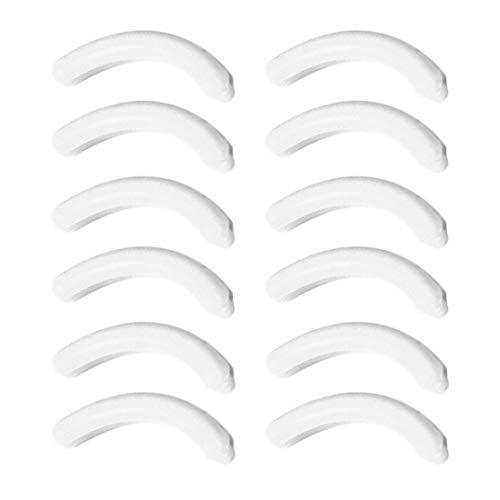 Recharge pour cils curler Recharge pour cils cils Supplémentaire Coussins en silicone Bandes de rechange élastiques Recharges lavables 2pcs