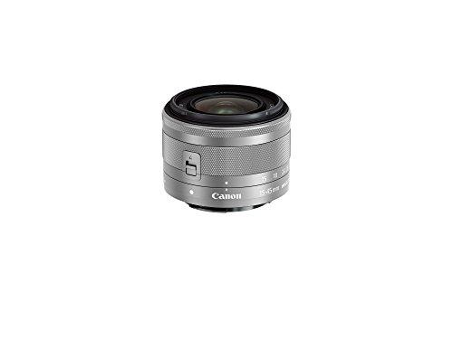 Canon 標準ズームレンズ EF-M15-45mm F3.5-6.3IS STM(シルバー) ミラーレス一眼対応 EF-M15-45ISSTMSL