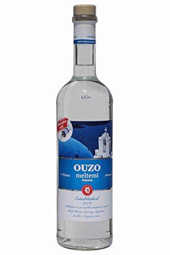 Ouzo Meltemi 700ml 40% Gatsios griechischer Uso Ouxo Tresterbrand Trester Schnaps
