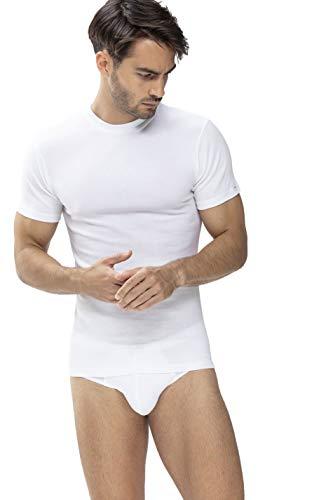 Mey Basics Serie Noblesse Herren Shirts 1/2 Arm Weiß S