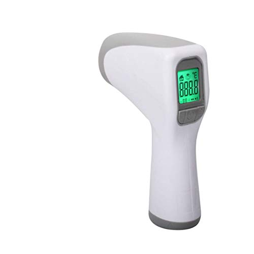 Digital Infrared Temperature,Non Contact Ear Forehead Thermometer, LCD Handheld Thermometer for Baby Kids Adults, Indoor and Outdoor