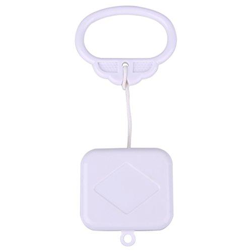 Everpertuk Caja de Música con Cordón de Cuerda, Regalo de Juguete de Sonajero de Campana de Cama de Bebé