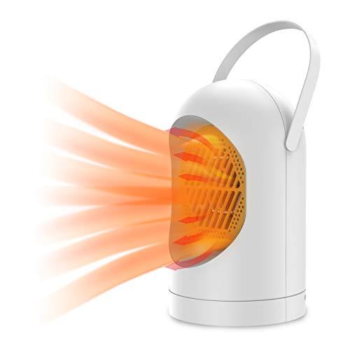 Chauffage Soufflant, Mini Chauffe-eau électrique Chauffe-eau Portable à Faible Consommation Chauffe-ventilateur pour La maison,La Chambre à Coucher,le Salon