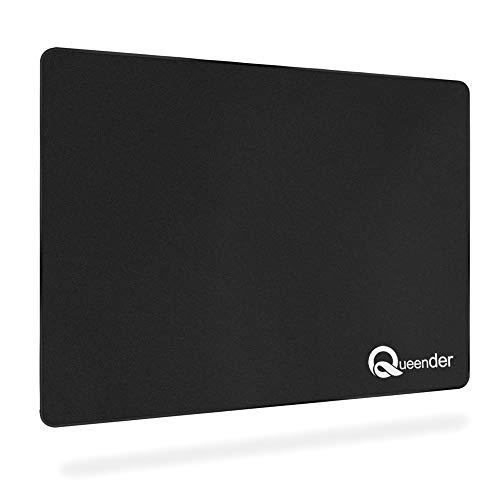 QueenDer Gaming Mauspad rutschfeste Komfortable Hochgeschwindigkeits für Maus Computer Laptop Home Office (M)