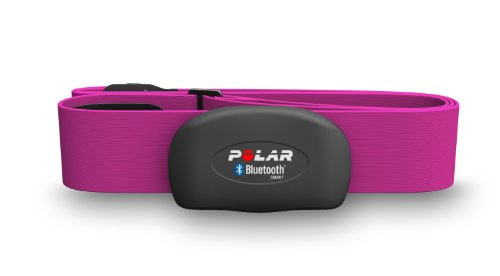 Polar H7 Bluetooth Heart Rate Sensor & Fitness Tracker (Pink, Medium/XX-Large)
