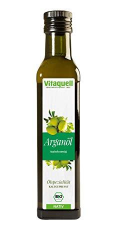 Vitaquell Argan-Öl Bio, ungeröstet, kaltgepresst, nativ 250 ml