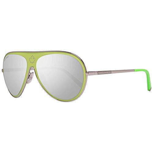 DSQUARED2 D Squared Sonnenbrille DQ0104 95C-59-15-140 Gafas de sol, Verde (Grün), 59.0 Unisex Adulto