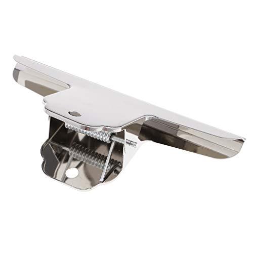 目玉クリップ 大きいサイズ クランプ 事務用品 ステンレス 万能クリップ 挟み口 - 16cm