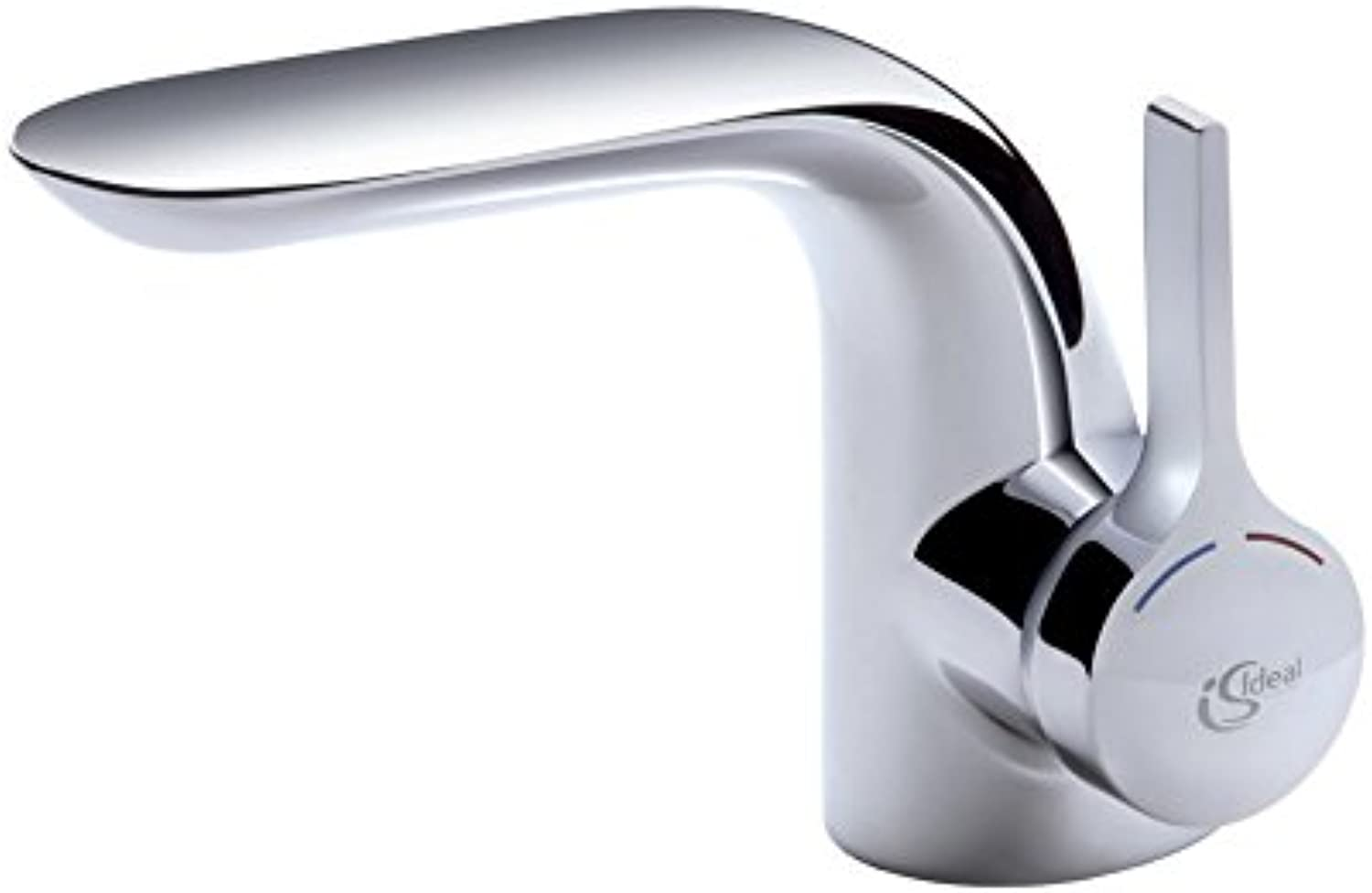 Ideal Standard A4258AA Washbasin Mixer Tap Chrome with Drainage Fitting Copper Pipe
