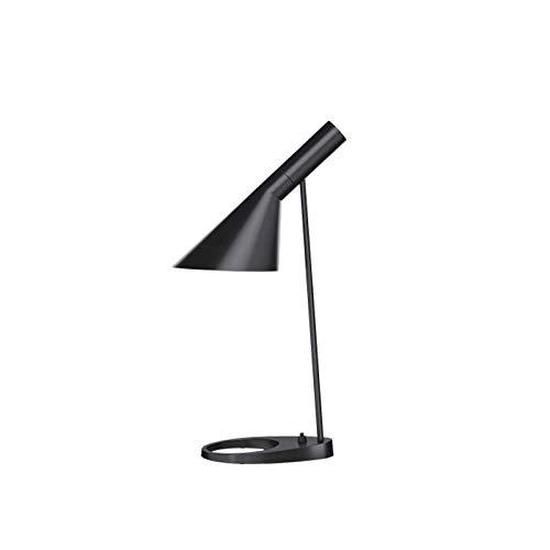 Louis Poulsen AJ Mini Tischlampe E14 Klassisch von Arne Jacobsen - Schwarz