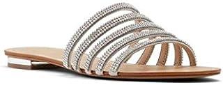 Aldo Flip Flop Slipper for Women, Size 7 US, Silver