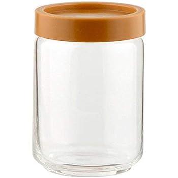 Ocean STAX Glass Jar Set, 750ml, Set of 6, Clear