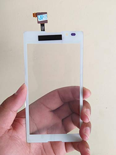MrSpares Touch Screen digitizer Panel Replacement Part for Sony Xperia C2305 : White