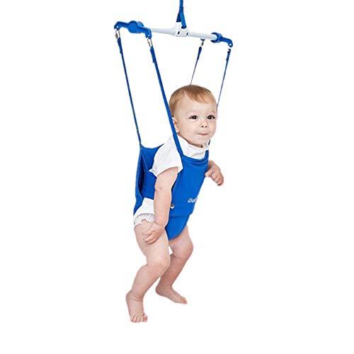 Gofeibao Columpio Bebe Columpio Bebe para Puerta Puente de bebé Puerta de Seguridad para bebés Bebé Puerta Puente de bebé Gorila Puerta bebé Gorila Blue