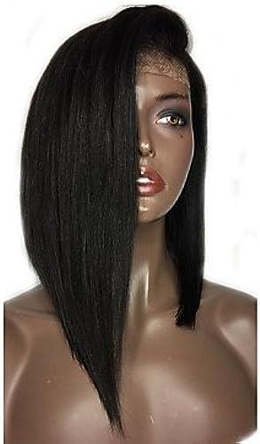 BOB Lace-Echthaar-Perücken mit Baby-Haar, brasilianisches Virgin-Echthaar-Perücke für Schwarz Frauen, 10 039–14 9short Bob Perücke Wig natürlicher Farbe mit