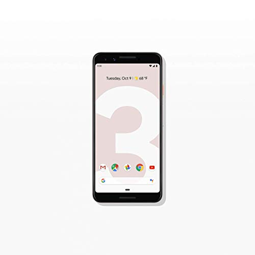Google - Pixel 3 with 128GB Memory Cell Phone (Unlocked) - Not Pink (Renewed)
