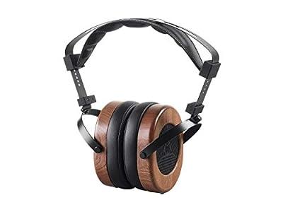 MONOPRICE Monolith M565 Over Ear Planar Magnetic Headphones - Black/Wood With 66mm Driver, Open Back Design, Removable Comfort Earpads For Studio/Professional