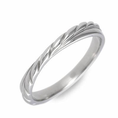 [フェフェ] リング 指輪 ホワイト メンズ 18.0号 FE-268-18