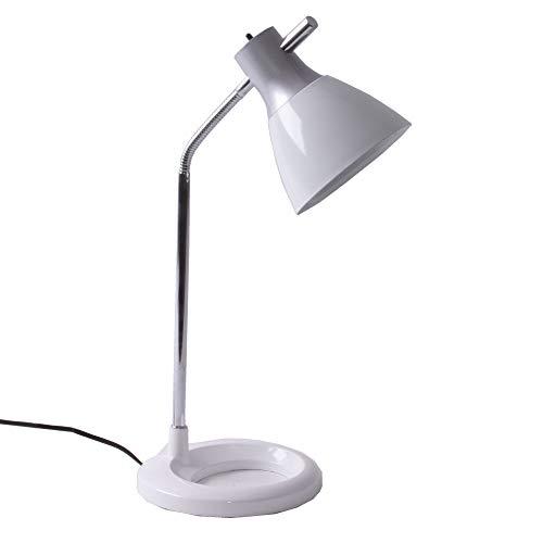 Brilliant - 92762/05 - Lampe de Bureau Jan - Moderne - 40 W - E27-230 V - Blanc