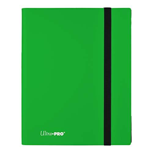 Ultra Pro E-15148 Eclipse 9-Pocket Pro-Binder-Lime Verde Carpeta