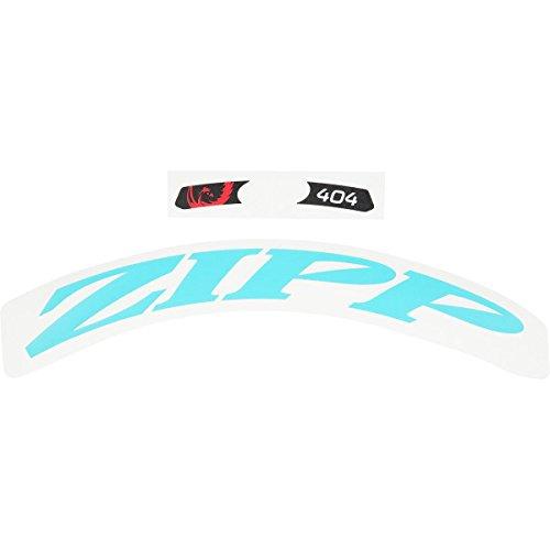 Zipp 404 No Border Logo 700 c Complete for 1 x Wheel (Special Order) - Rueda para Bicicletas, Color Azul