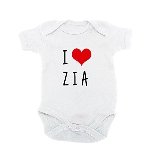 LaMAGLIERIA - Body - para bebé niño Blanco Bianco