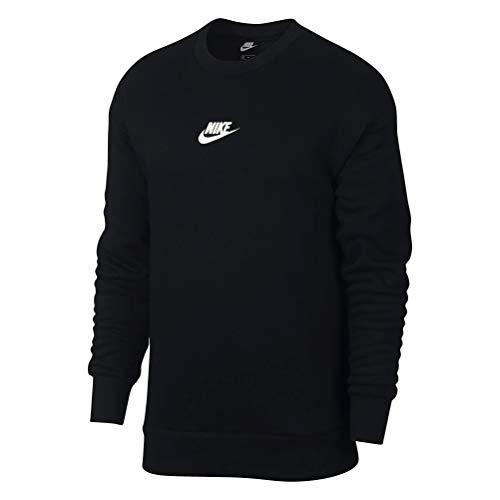 Nike M NSW Heritage CRW T-Shirt à Manches Longues pour Homme S Multicolore - Noir (Black/sail)