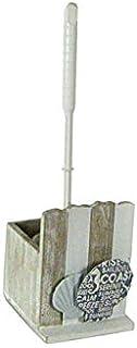 Set accessori da bagno in ceramica 4 pezzi portaspazzolino dispenser sapone,piattino porta sapone e bicchiere da lavandino colori assortiti bianco o tortora decoro fiori PAM-783241