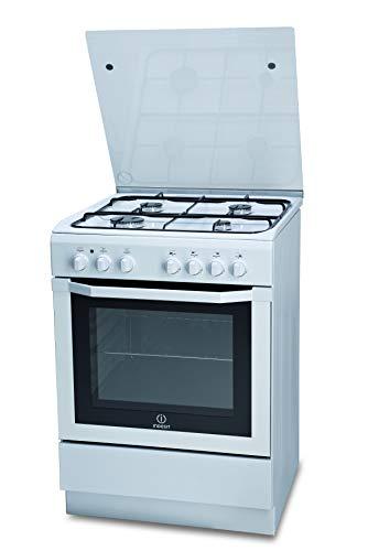 Hotpoint I6GSH1AF(W)/I, Cucina 60X60cm con Forno elettrico, a Libera Installazione, 4 Fuochi a gas