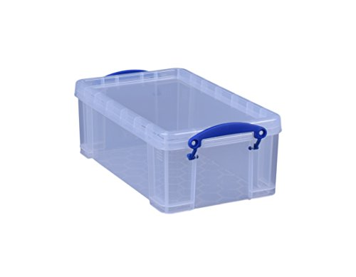 Really Useful Box 5 Litre Box.Clear Transparent 200x125x355 mm PP Polypropylen