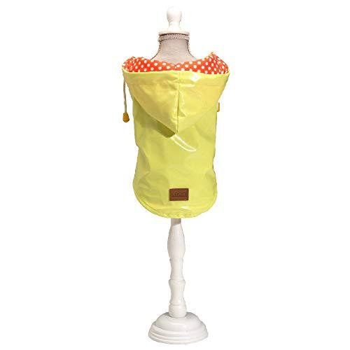 Croci C7274473 Impermeabile Raindrop Lemon, Cm 35