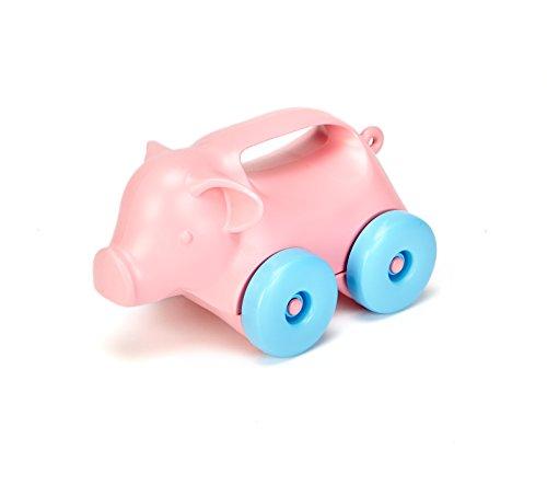 Green Toys - 66072 - Jouet À Tirer - Pig