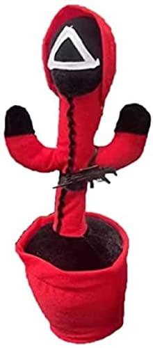 Giocattoli di gioco di calamari, giocattoli di peluche di calamari che possono cantare e ballare, divertenti regali di Halloween e interessanti giocattoli educativi (3 pezzi) (triangolo, giocattolo)