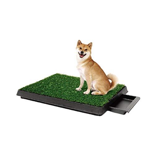 YINLING Inodoro para Perros, Césped con Cajones para Mascotas, Orinal De Material Ecológico, Urinario, Inodoro para Perros