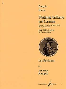 Fantaisie brillante sur Carmen : Pour flûte et piano (Les Révisions de Jean-Pierre Rampal)