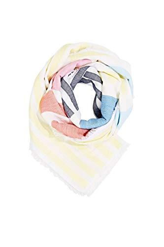 ESPRIT Accessoires Damen 050EA1Q305 Mode-Schal, 740/BRIGHT YELLOW, Einheitsgröße
