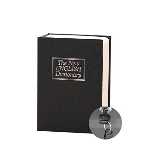 ZJL220 - Caja fuerte oculta de libro secreto de desviación de Diccionario con almacenamiento de joyas de cerradura