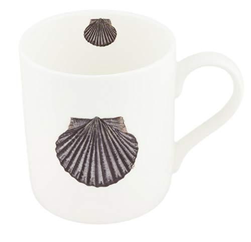 Tasse à thé en porcelaine fine Motif coquillages