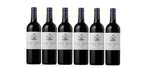 CHATEAU LA TOUR CORDOUAN - 2017-6 bouteilles - Grand Vin Rouge de Bordeaux Médoc - AOP Médoc 2017