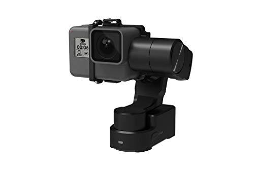 FEIYU TECH WG2X 3-assi Gimbal portatile per fotocamera sportiva, Nero