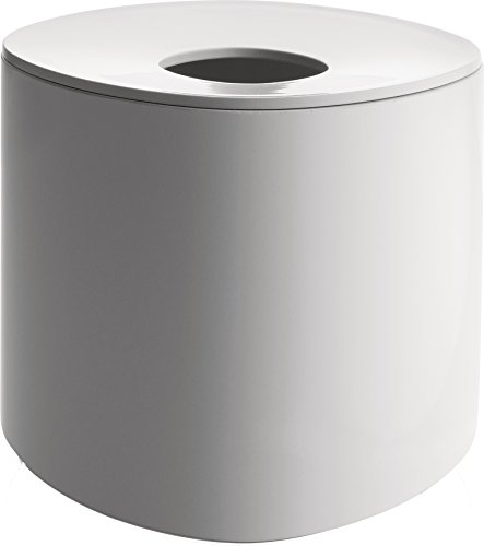 Alessi Birillo - Dispensador de pañuelos de papel (polimetilmetacrilato), color blanco