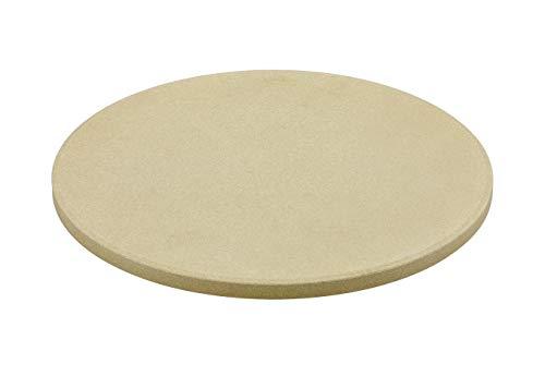 Rösle 18328 Pizzastein rund 33cm, Schamotte, beige, 33 cm