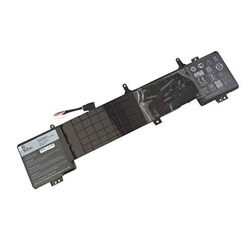 6JHDV 6JHCY 5046J YKWXX Laptop Battery Replacement for Dell Alienware 17 R3 P43F002 R2 P43F001 ALW17ED-1728 2728 3728 3828 4718 4738 AW17R3-3758SLV 7092SLV 4175SLV 8342SLV 1675SLV(14.8V 92Wh)