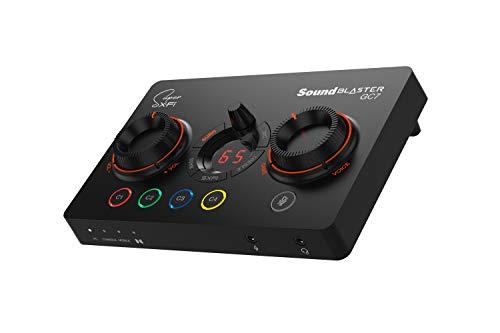 Il 7.1 DAC e amp Creative Sound Blaster GC7 per lo streaming di gioco offre pulsanti programmabili, BATTLE Mode, Scout Mode, GameVoice Mix, Dolby Audio compatibile con PC, PS4 PS5, Nintendo Switch