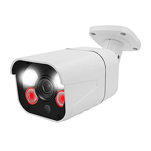 3MP PoE Security IP Camera Outdoor/Indoor IP Security Video Surveillance, IP Bullet Camera, CCTV IP Camera with Colorful Night Vision, ONLY Work with WESECUU POE NVR System
