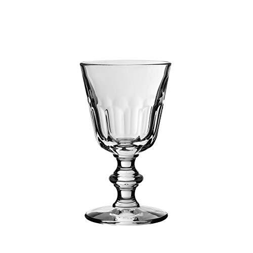 Côté Table 17194 Périgord Verre avec Pied Eau Transparent 22 cl 8,5 x 8,5 x 15 cm (lot de 6)