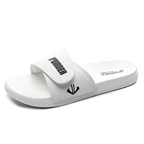 Zapatillas Hombres De La Moda De Los Deslizadores Las Mujeres Desgaste del Verano Versión Coreana De La Personalidad Al Aire Libre Tendencia De 2020 Nuevas Sandalias De Las Sandalias De Playa Pareja